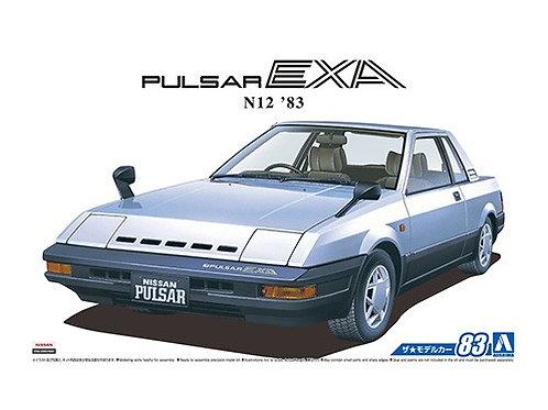 Aoshima Model Car No.83 1/24 Nissan Pulsar EXA N12 '83