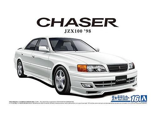 Aoshima Model Car No.16 1/24 Toyota Chaser JZX100 '98