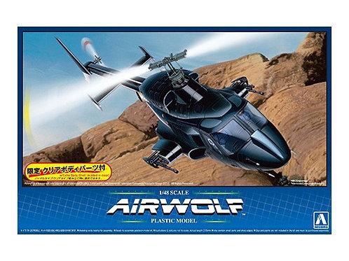 Aoshima 1/48 Airwolf [Clear Body Ver.]