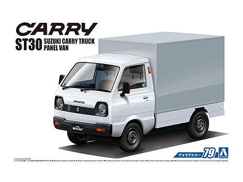 Aoshima Model Car No.79 1/24 Suzuki Carry ST30 Truck Panel Van '79