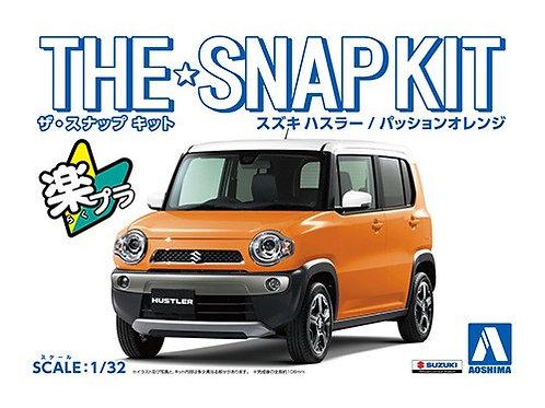 Aoshima Snap Kit 1-D 1/32 Suzuki Hustler [Passion Orange]