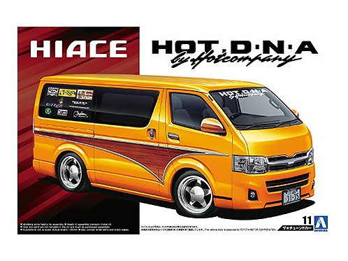 Aoshima Tuned Car 1/24 Toyota Hiace [Hot Company]