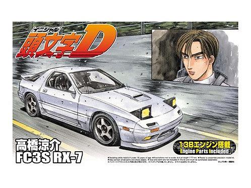 Aoshima Initial D 1/24 FC3S RX-7 [Takahashi Ryousuke]