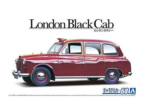 Aoshima Model Car No.68 1/24 London Black Cab '68