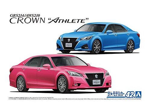 Aoshima Model Car No.42 1/24 Toyota GRS214/AWS210 Crown '15