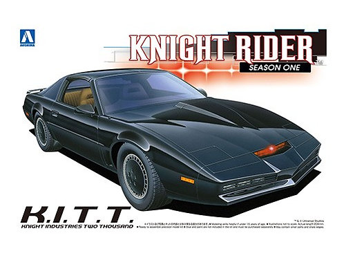 Aoshima Knight Rider 1/24 K.I.T.T. [Season One]