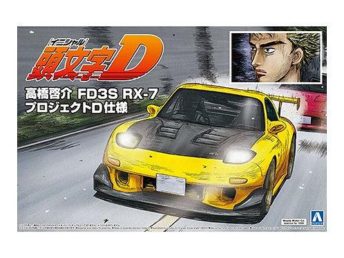 Aoshima Initial D 1/24 FD3S RX-7 [Takahashi Keisuke] [Project D Ver.]