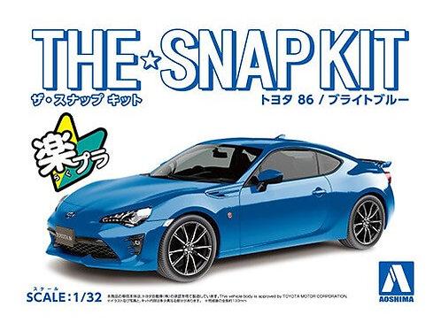 Aoshima Snap Kit 3-E 1/32 Toyota 86 [Bright Blue]