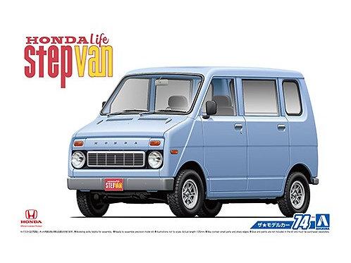 Aoshima Model Car No.74 1/24 Honda Life Step Van '74