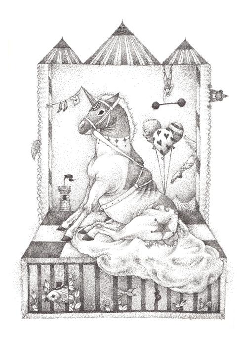 서커스의 당나귀