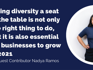 Giving diversity a seat at the table is not only the right thing to do, but it is also essential