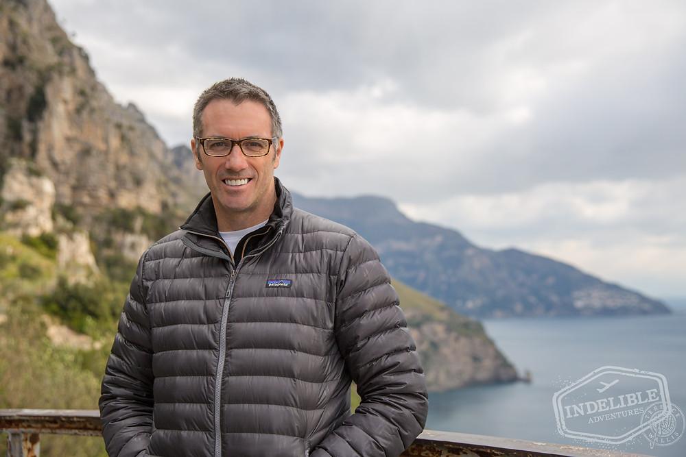 Terence Wallis on the Amalfi Coast