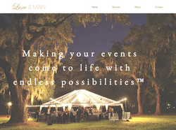 Luxe and Main Site Home Page