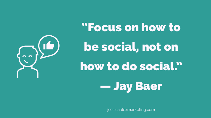 Jay Baer Social networking quote