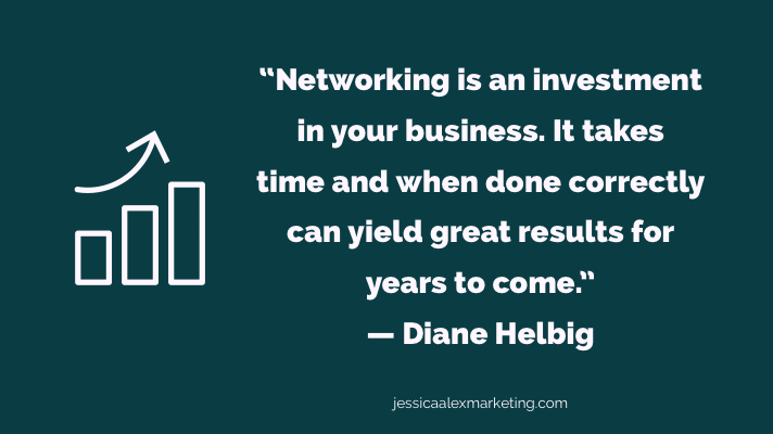 Diane Helbig networking quote