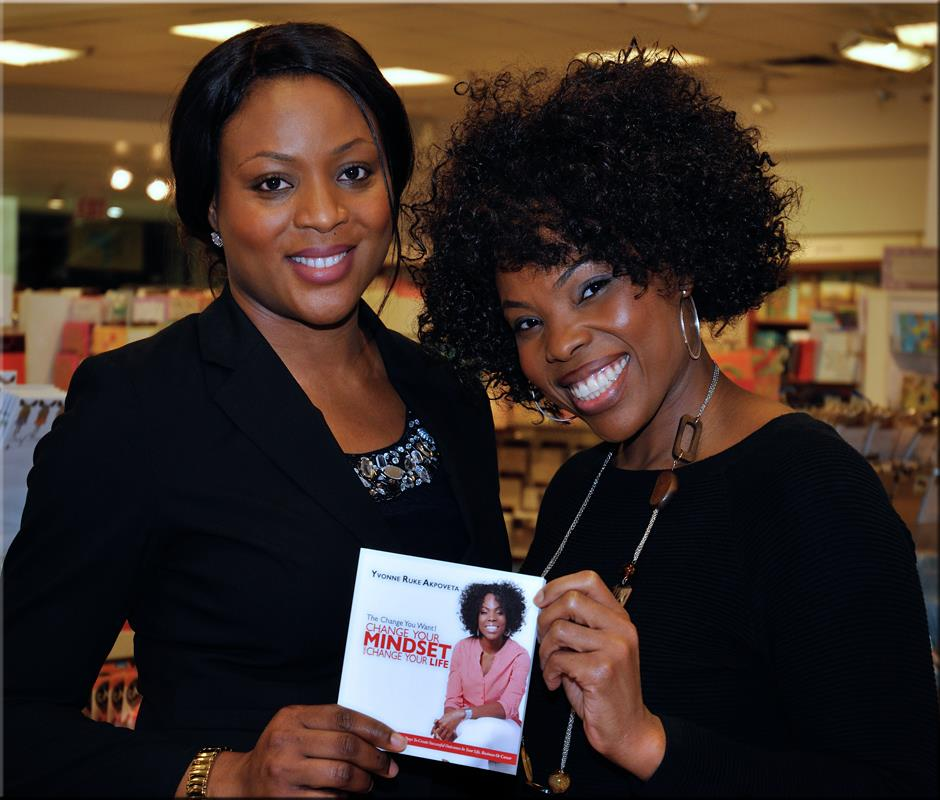 Yvonne Book Signing