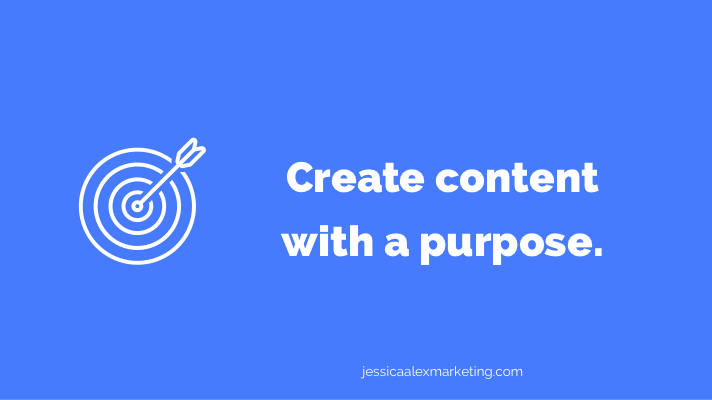 Create content with a purpose