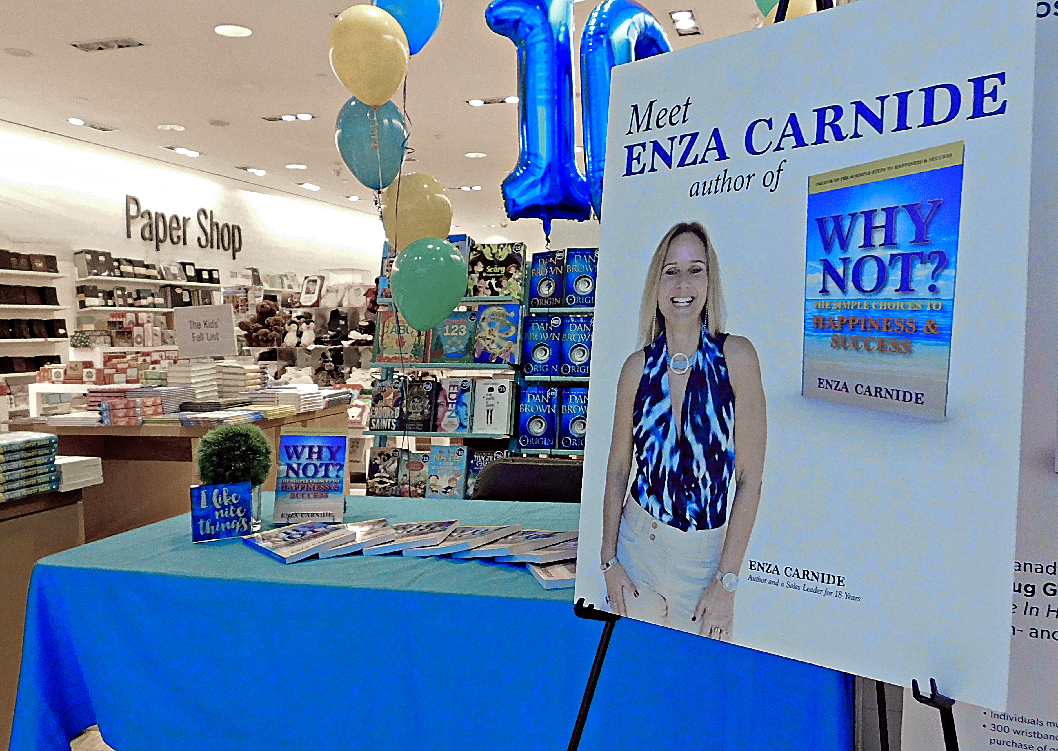 Enza Book Signing