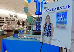 Enza Book Signing