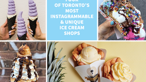 Four of Toronto's Most Instagrammable & Unique Ice Cream Shops
