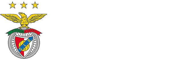 Logo Benfica Football School Italy BIANC
