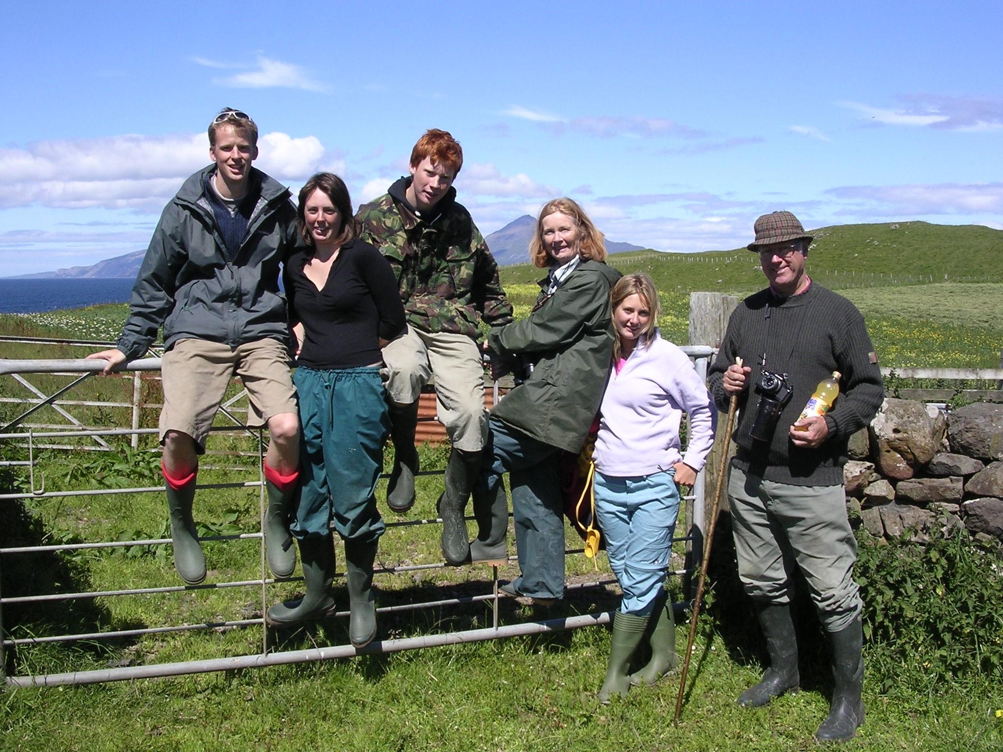 The Martin Family 2005