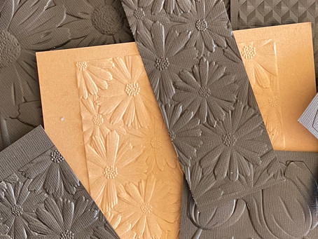 Metallic Gilding Polish Background Tutorial
