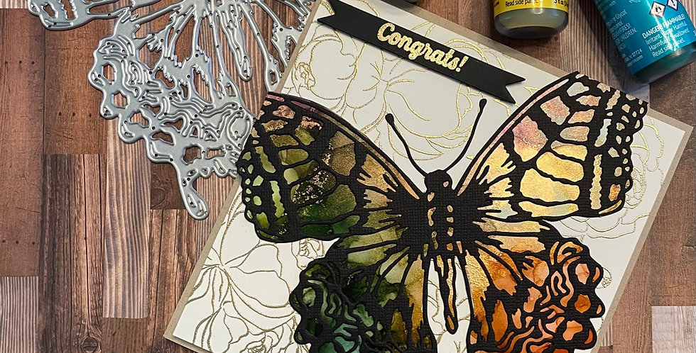 Butterfly Congrats by Darcy