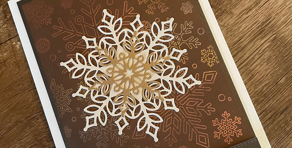 Shimmer Snowflakes by Darcy