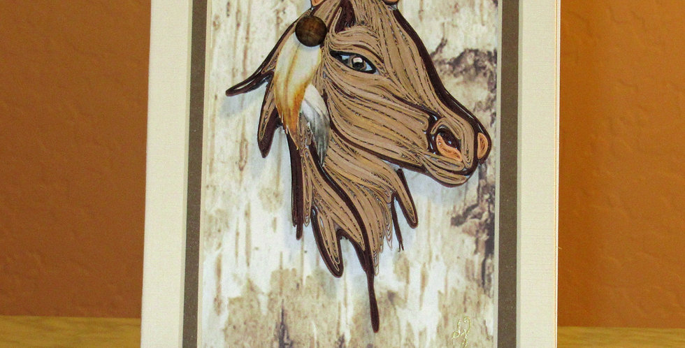 Feathered Horse