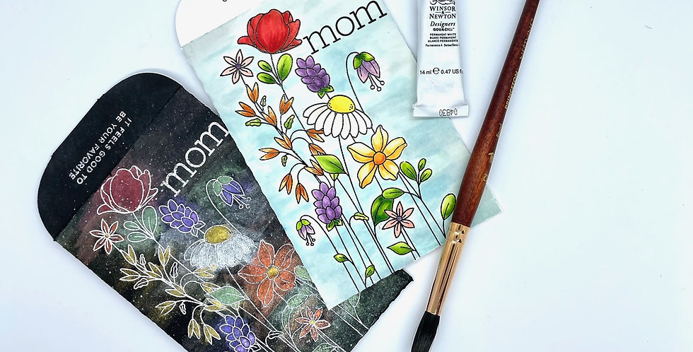 Mother's Day Watercolor Flowers by Darcy