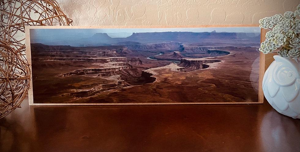 Canyonlands Storm Panoramic Print