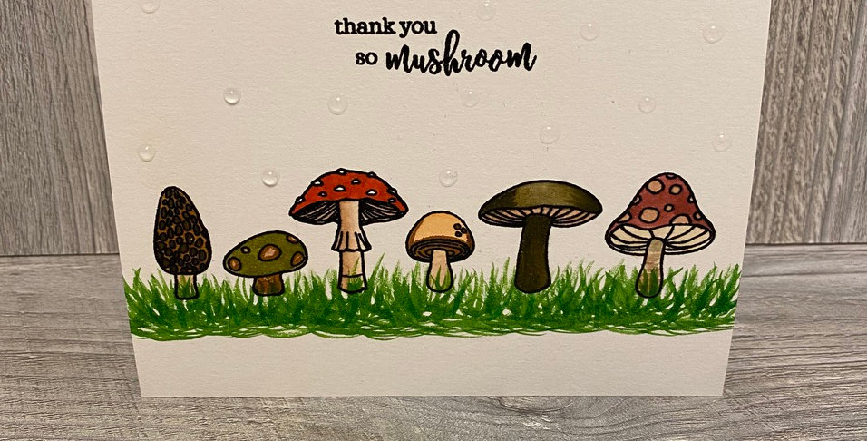 Thank You So Mushroom! by Lexi