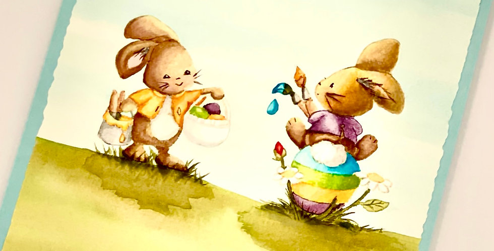 Bunny Art by Darcy