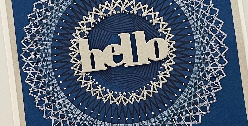 Geometric Hello by Darcy