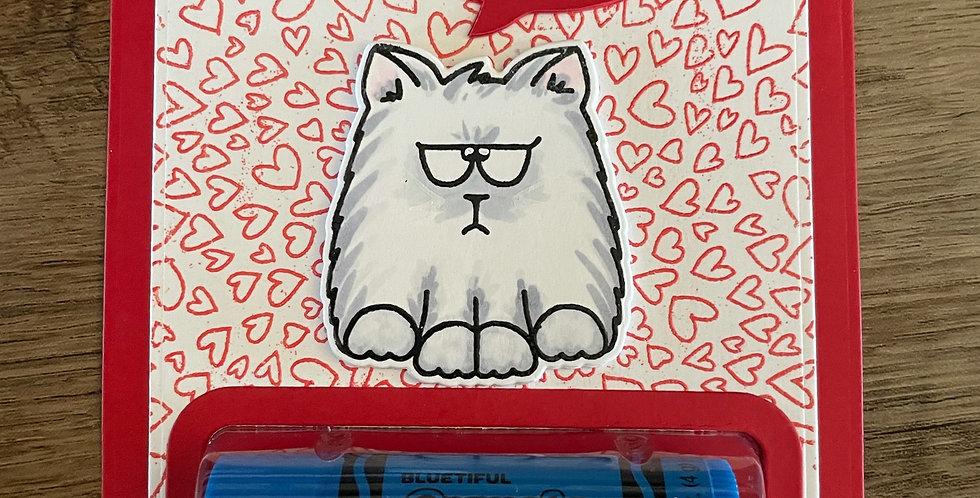 Grumpy Kitty Valentine by Darcy