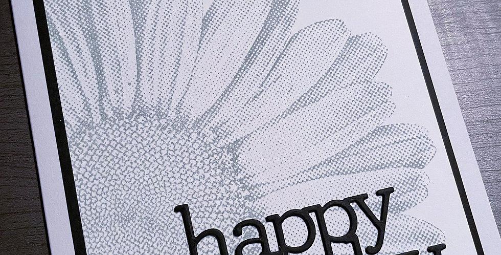 Sunflower - Happy Birthday  by Darcy
