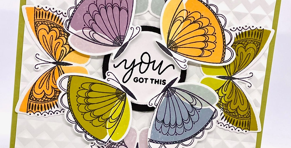 You Got This Butterflies by Darcy