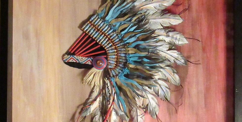 Native American Headdress by Djay