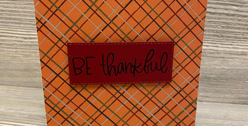Be Thankful by Lexi