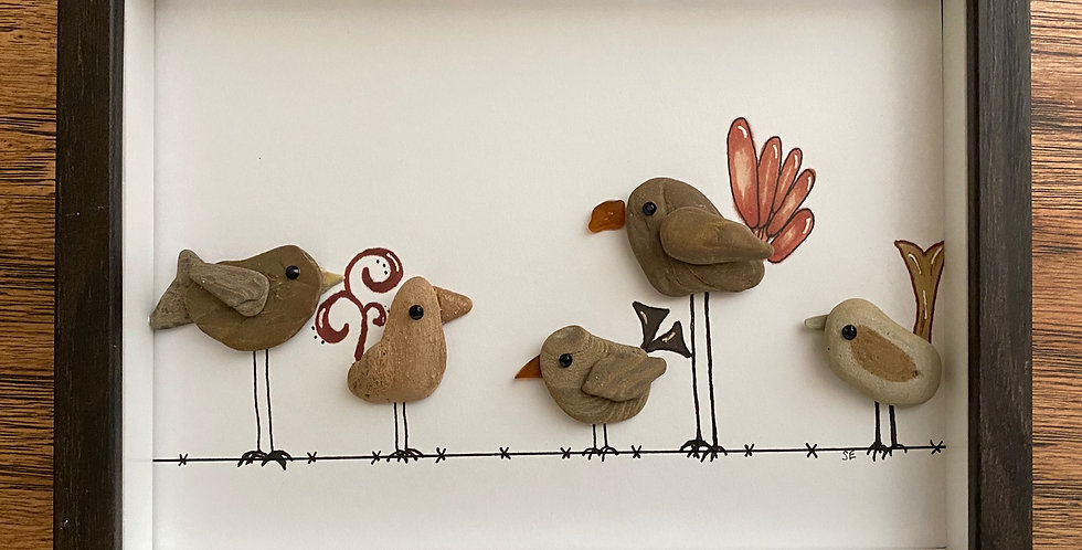 Birds On A Wire by Shari