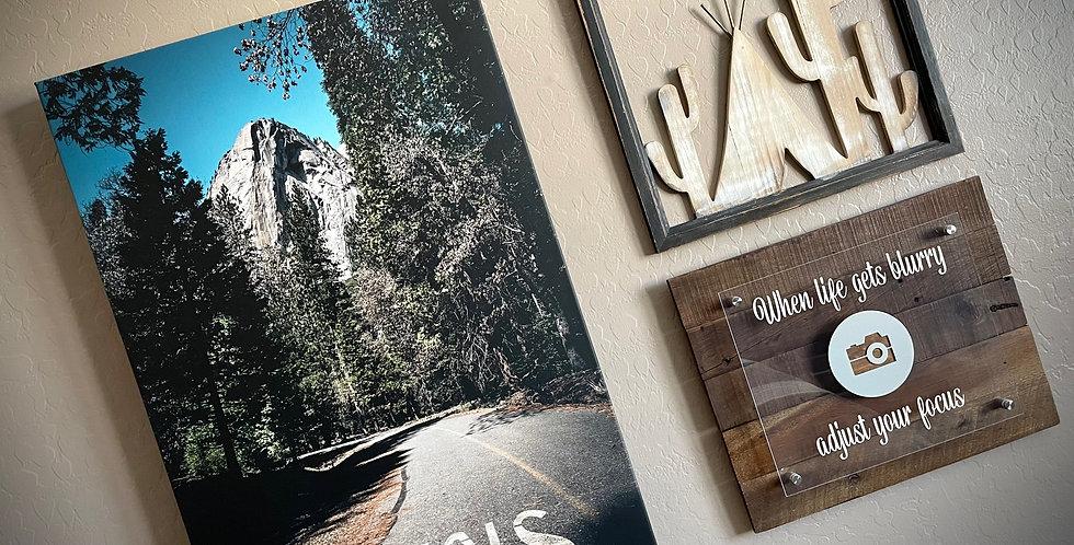 Stop In Yosemite