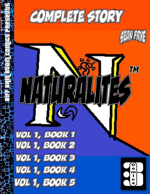Naturalites Vol 1 Books 1-5 (Digital)