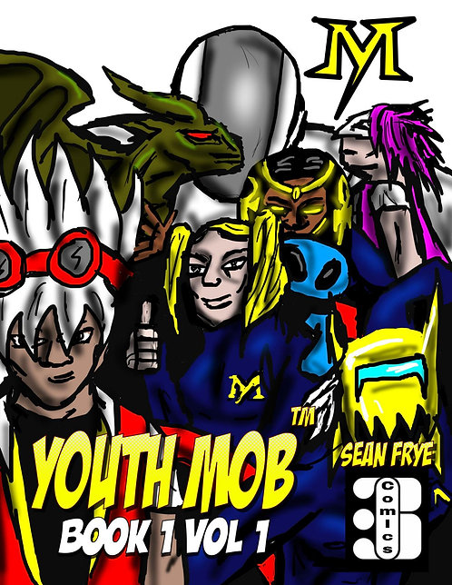 Youth Mob Vol 1 Book 1 (Physical Book)