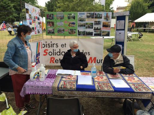"""Le dimanche 6 septembre 2020 au parc Jean Jaurès était organisé """"Le Forum des Associations de MURET"""""""