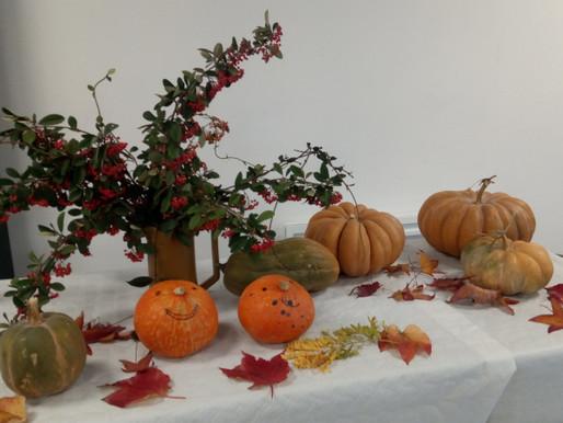 Le vendredi 16 novembre 2018 : fête de l'automne à Maïté Anglade.