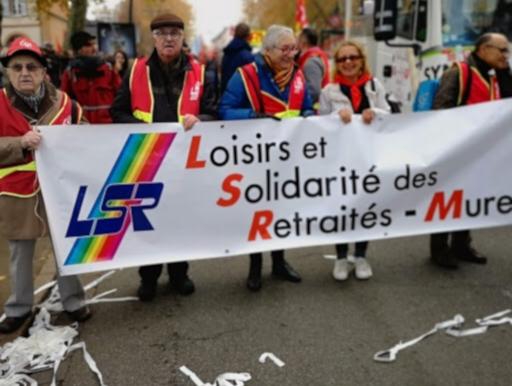 Le jeudi 5 décembre 2019 : manifestation à Toulouse