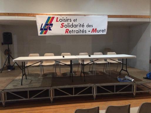 Le samedi 25 janvier 2020 : Assemblée Générale de LSR