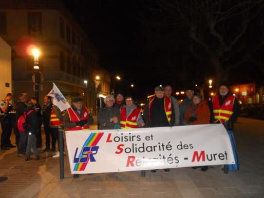 Le jeudi 10 janvier 2020, manifestation à Toulouse et rassemblement à Muret