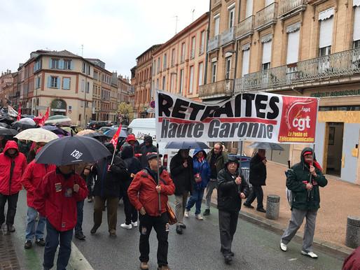 Manifestation des retraité e s du 11 avril 2019 à Toulouse